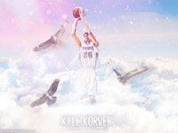 Kyle Korver Hawks 2014 Wallpaper