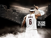 LeBron James Return To Cavaliers 2014 Wallpaper