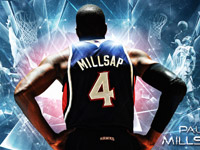 Paul Millsap Hawks Playoffs 2014 Wallpaper