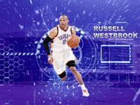 Russell Westbrook OKC Thuder 2014 Wallpaper