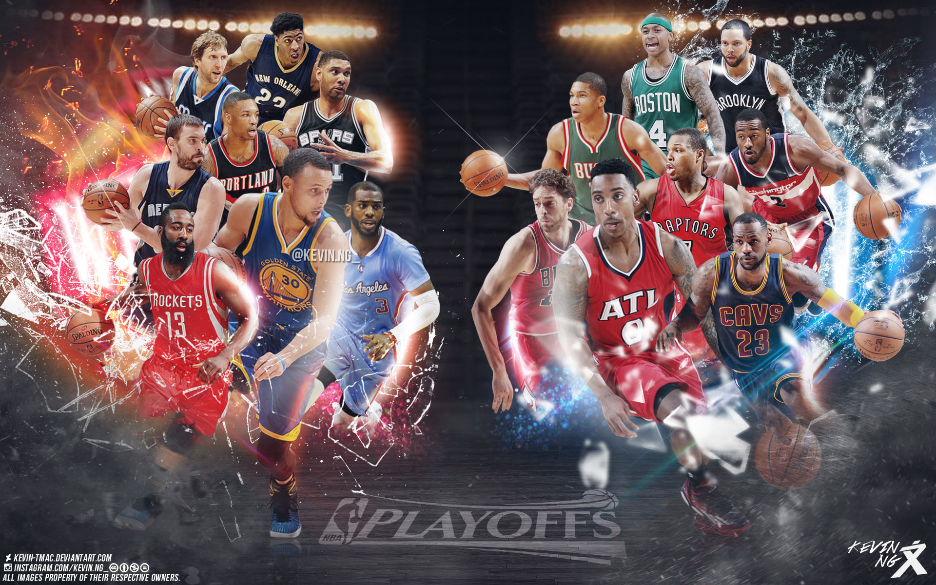 2015 Nba Playoffs Stars 1920 1200 Wallpaper Basketball