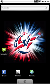 Washington Wizards Logo Live Android Wallpaper