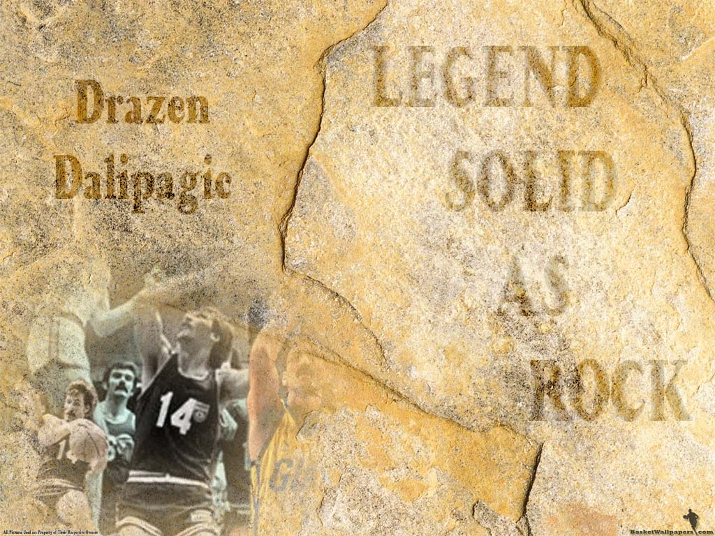 The second is wallpaper of Drazen Dalipagic, Serbian legend and one of most