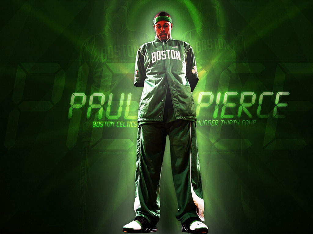 Celtics all star and leader in last few seasons - PAUL PIERCE. Paul ...