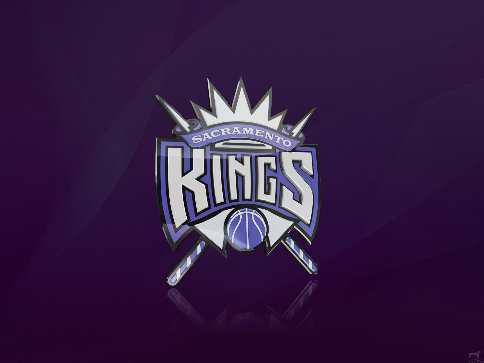 Sacramento Kings 3D Logo Wallpaper - Basketball Wallpapers
