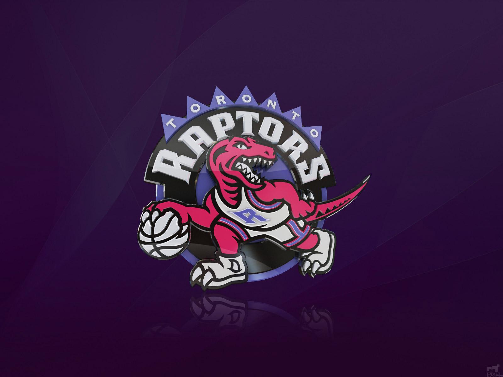 Toronto Raptors 3D Logo Wallpaper