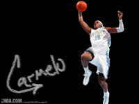 Carmelo Anthony Dunk Wallpaper
