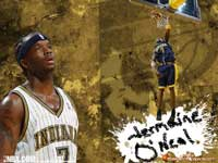 Jermaine O'Neal Dunk Wallpaper