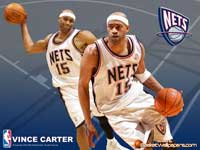 Vince Carter Passing Wallpaper