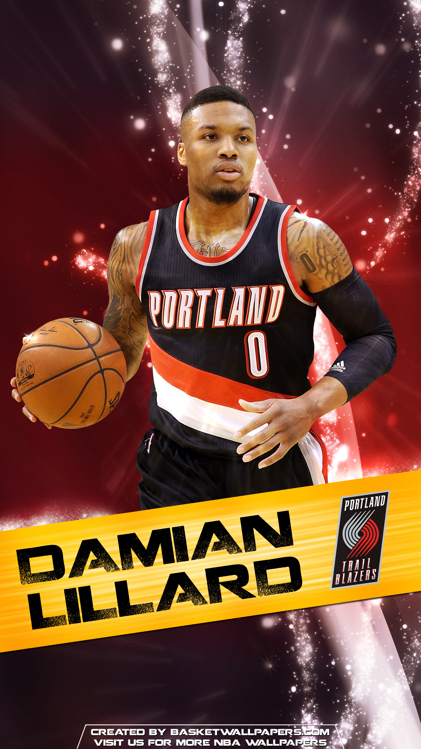 Damian Lillard Portland Trail Blazers