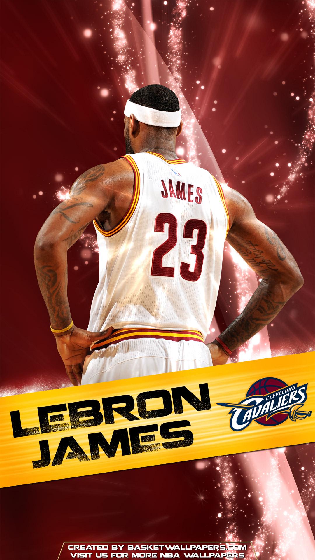 LeBron James Cleveland Cavaliers 2016 Mobile Wallpaper