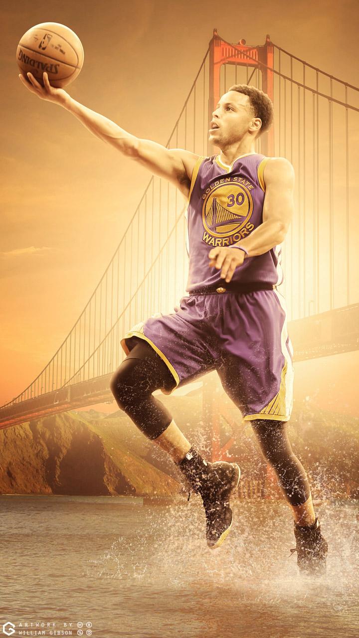 Iphone wallpaper golden state warriors - Stephen Curry Warriors Mobile Wallpaper Basketball