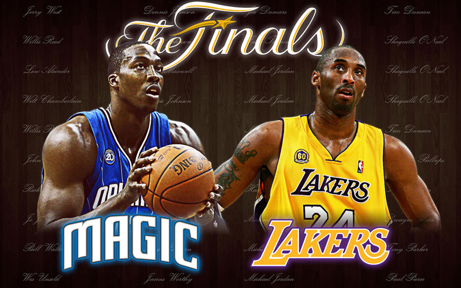 2009 NBA Finals Widescreen Wallpaper