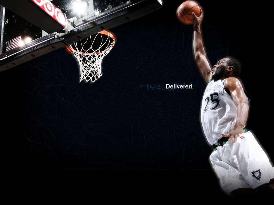 Al Jefferson Dunk Wallpaper