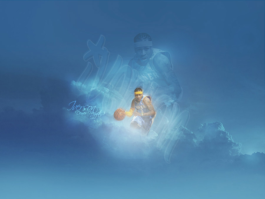 Allen Iverson Nuggets 1280x960 Wallpaper