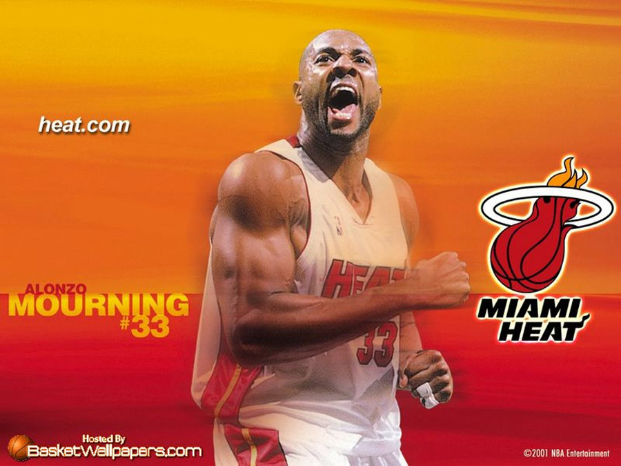 Alonzo Mourning Wallpaper