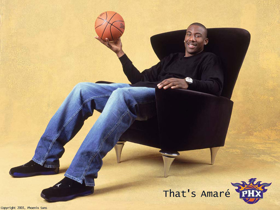 Amare Stoudemire Relaxing Wallpaper