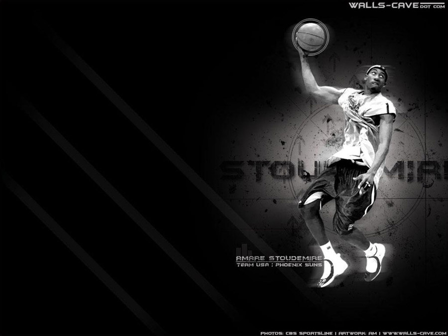Amare Stoudemire Dream Team Dunk Wallpaper