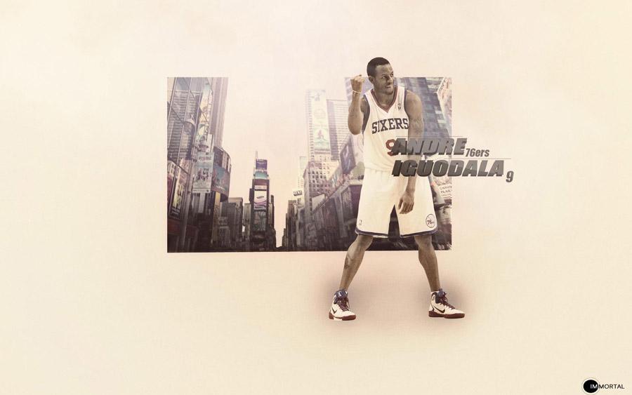 Andre Iguodala Sixers 2012 1920x1200 Wallpaper