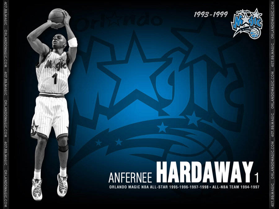 Anfernee Hardaway Orlando Magic Wallpaper