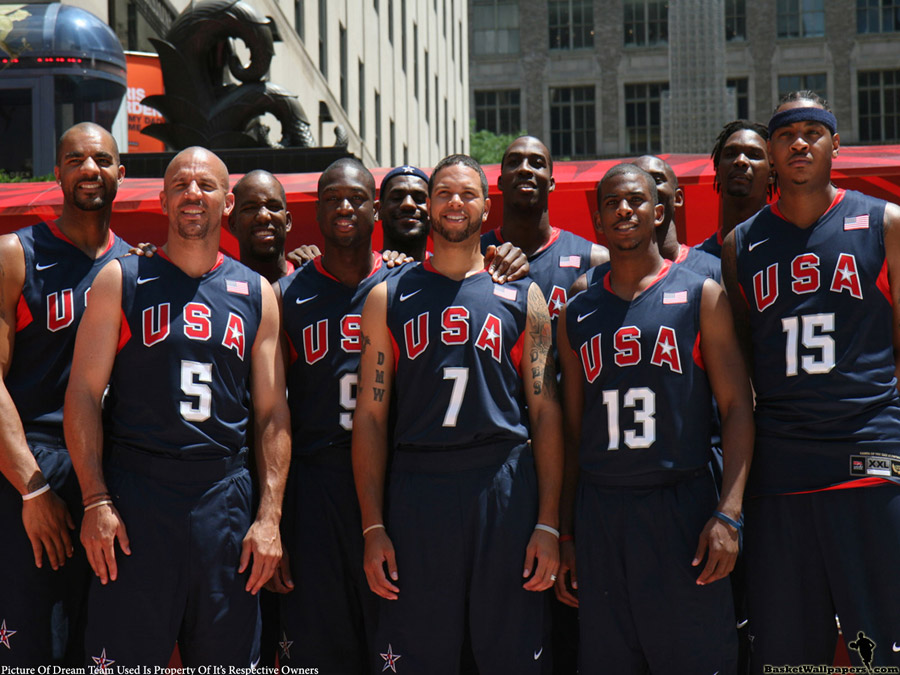 Beijing 2008 USA Dream Team Wallpaper