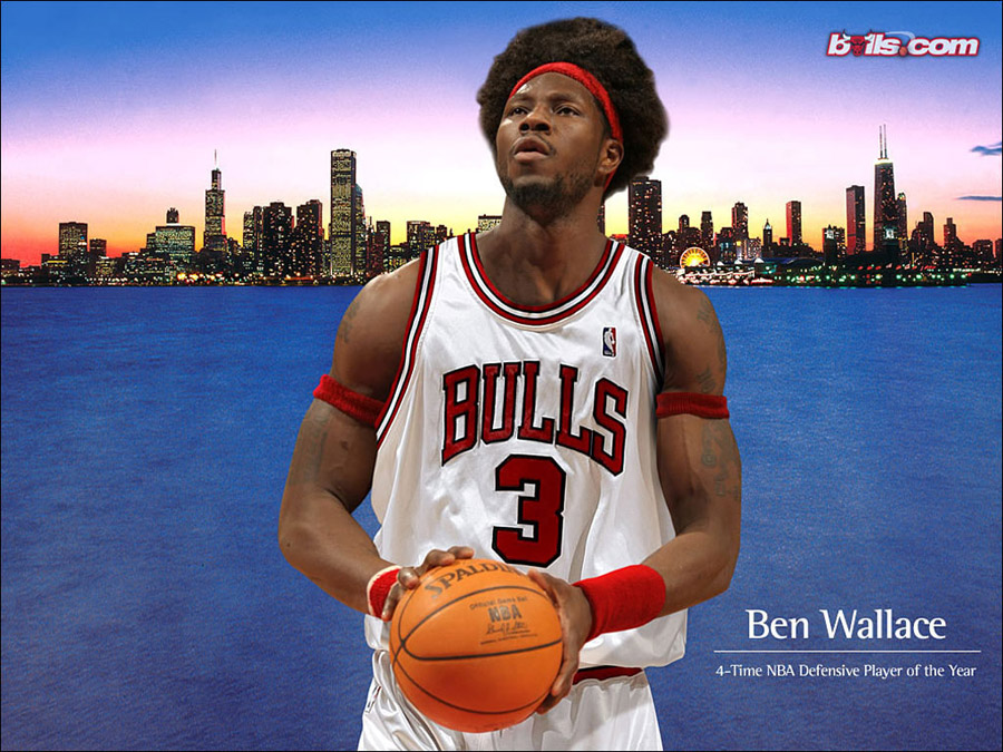 Ben Wallace Chicago Bulls Wallpaper