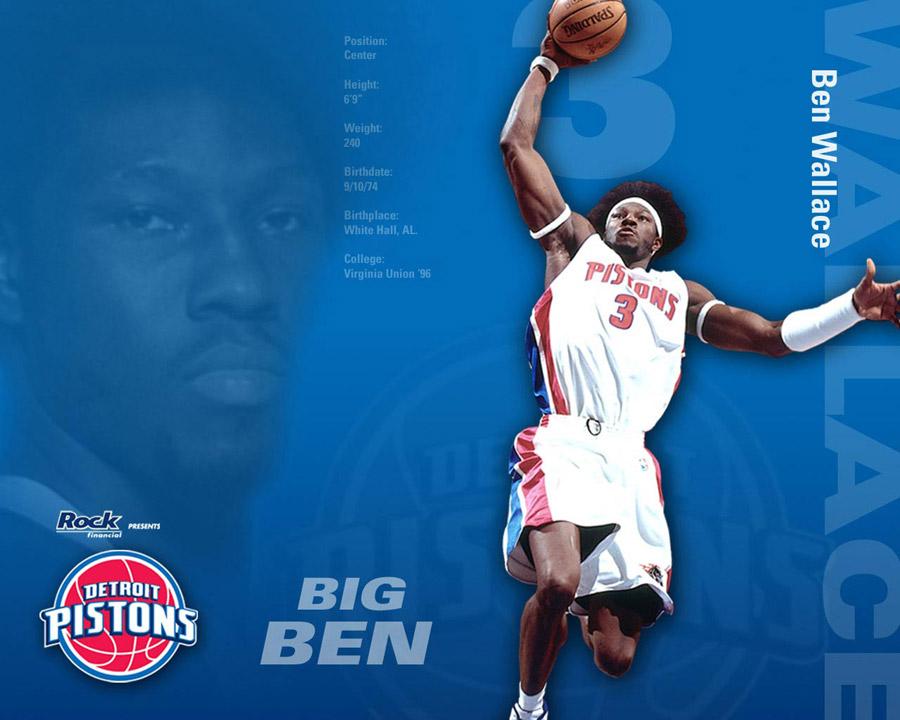 Ben Wallace Pistons Wallpaper