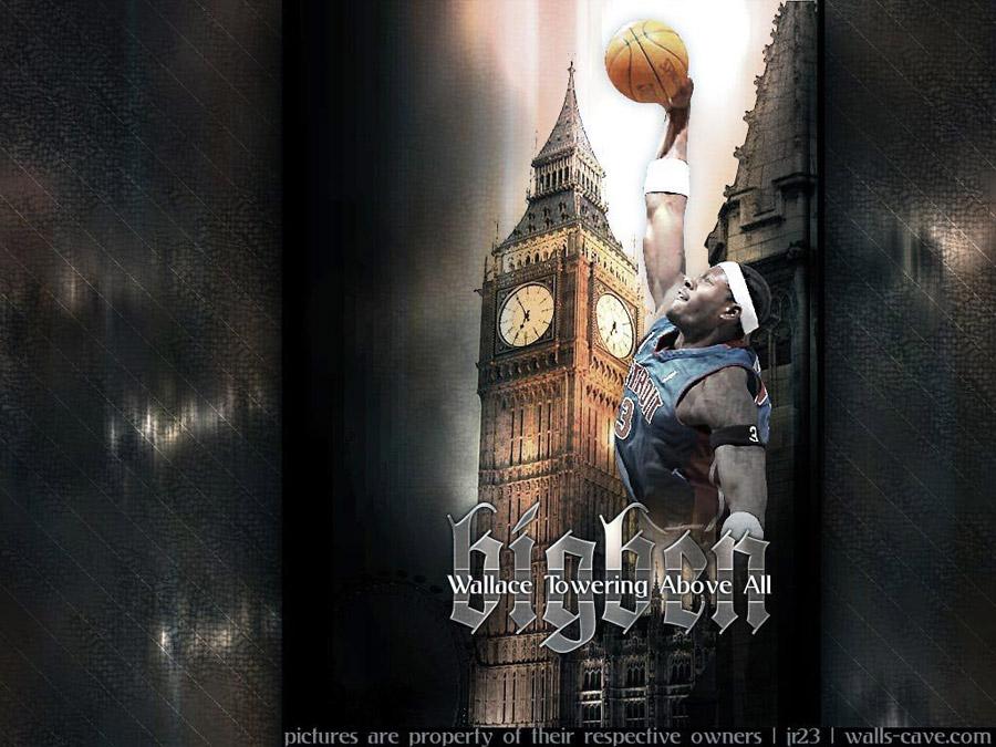 Big Ben Wallace Pistons Wallpaper