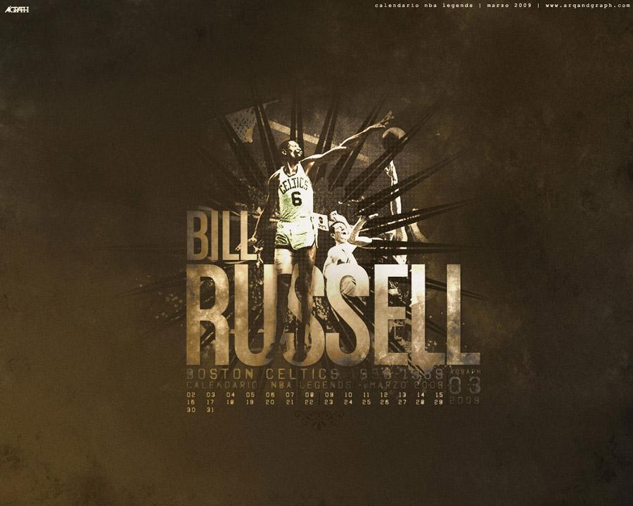 Bill Russell Wallpaper