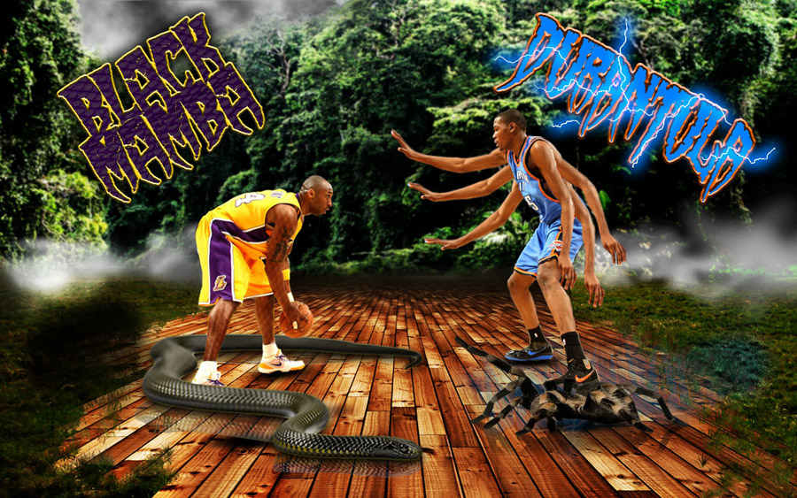 Black Mamba vs Durantula 1280x800 Wallpaper