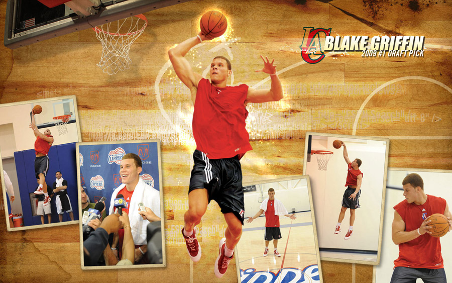 Blake Griffin Widescreen Wallpaper