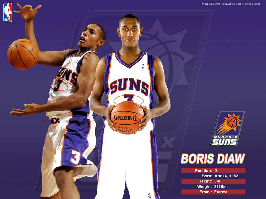 Boris Diaw Phoenix Suns Wallpaper