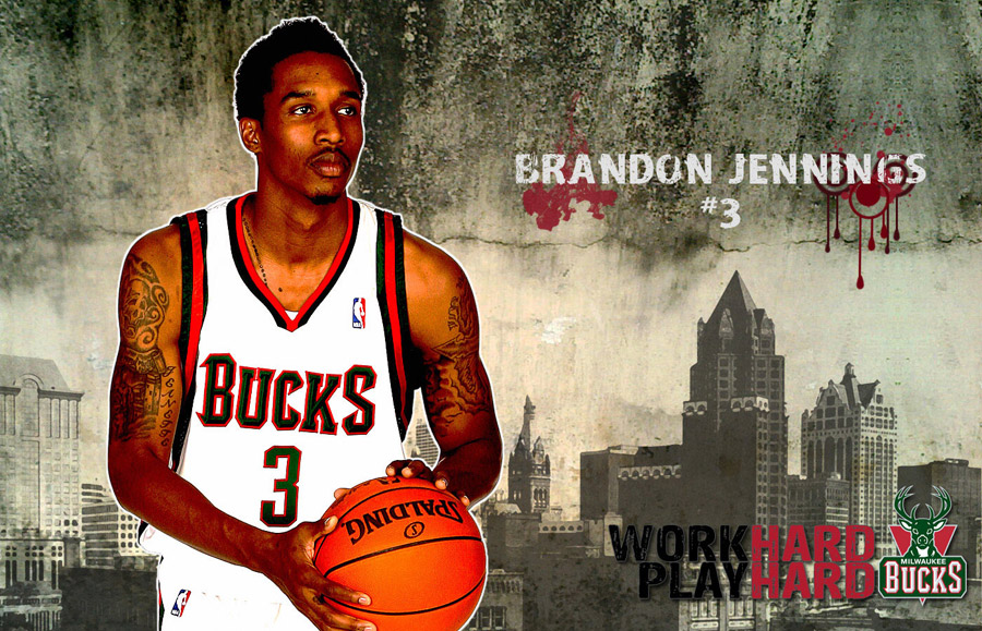 Brandon Jennings Bucks 1440x900 Wallpaper