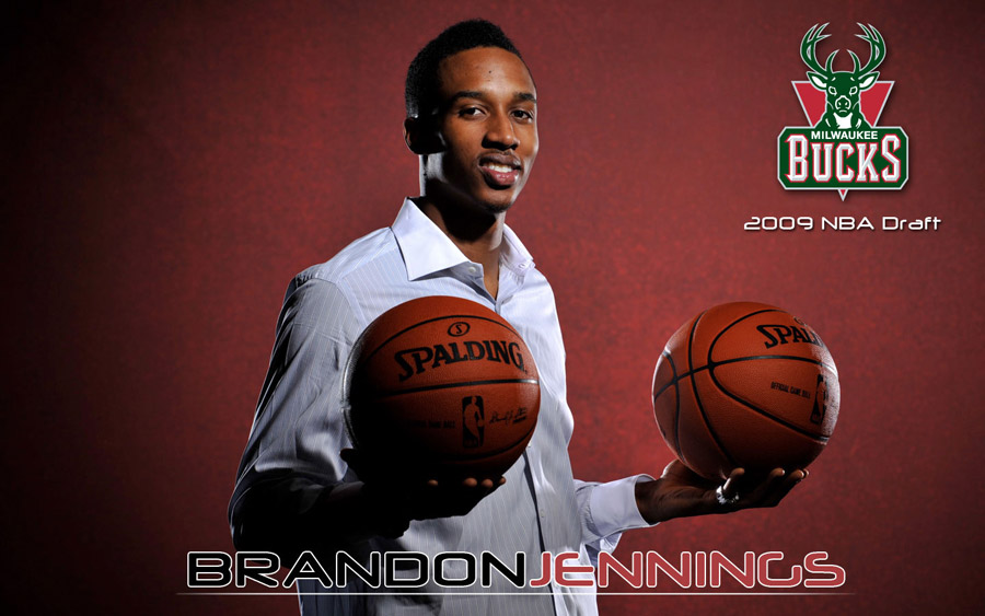 Brandon Jennings Bucks Widescreen Wallpaper
