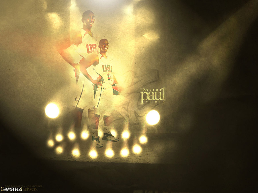 CP3 Dream Team Wallpaper