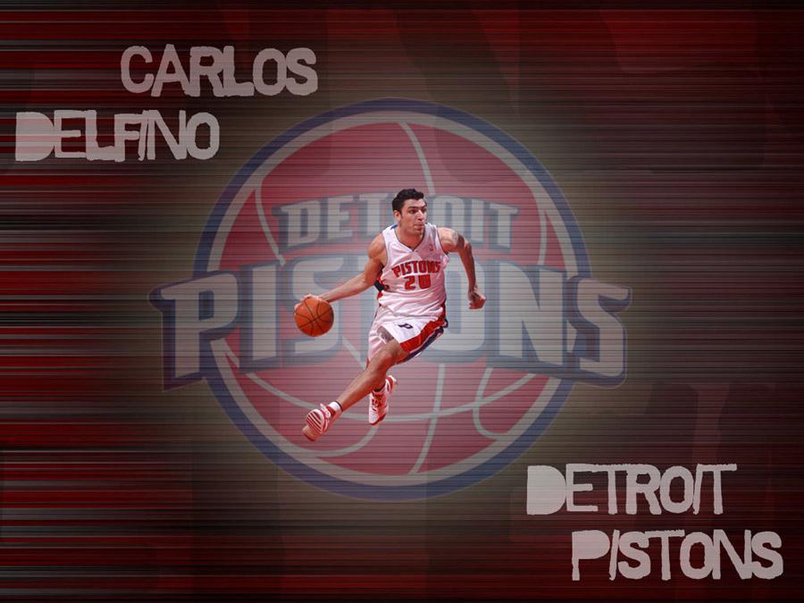 Carlos Delfino Detroit Pistons Wallpaper