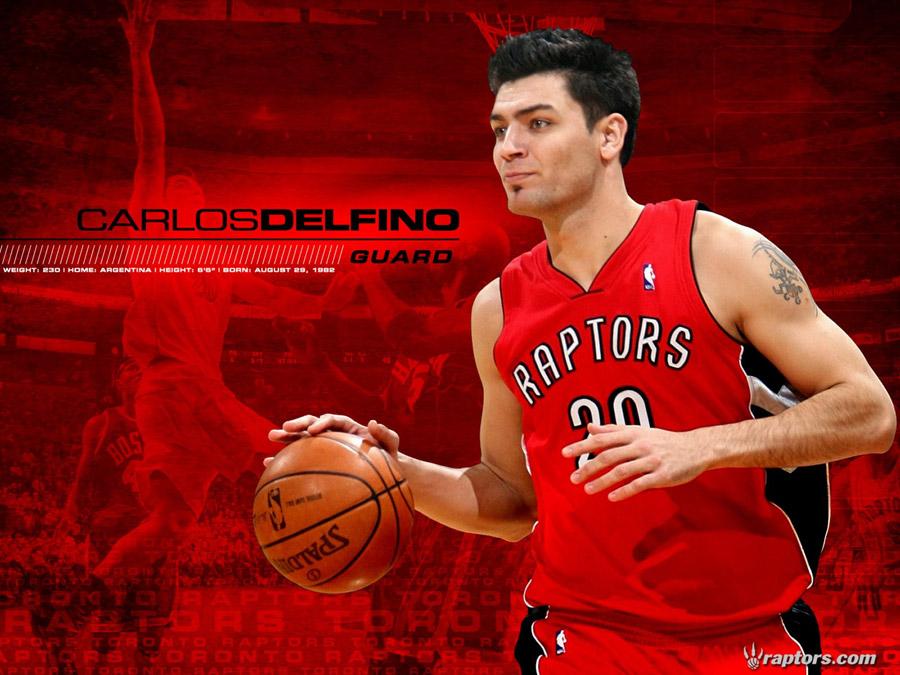 Carlos Delfino Toronto Raptors Wallpaper