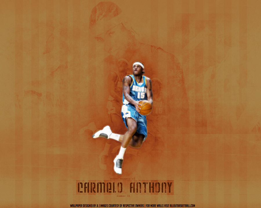 Carmelo Anthony 1280x1024 Wallpaper