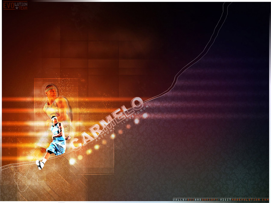 Carmelo Anthony Passing Wallpaper