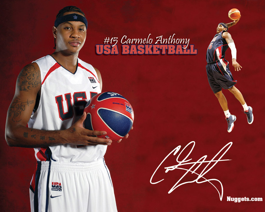 Carmelo Anthony USA Team Wallpaper
