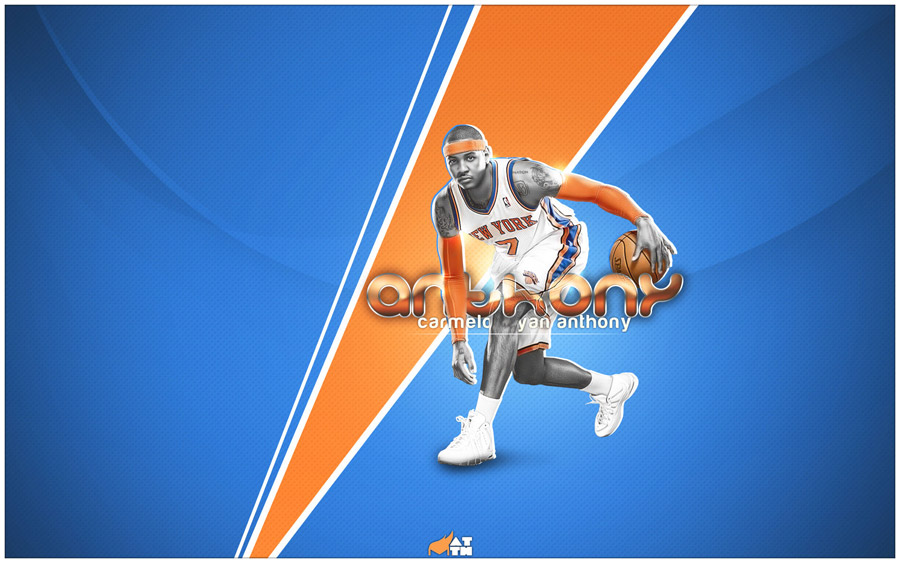 Carmelo Kiyan Anthony Knicks 1920x1200 Wallpaper