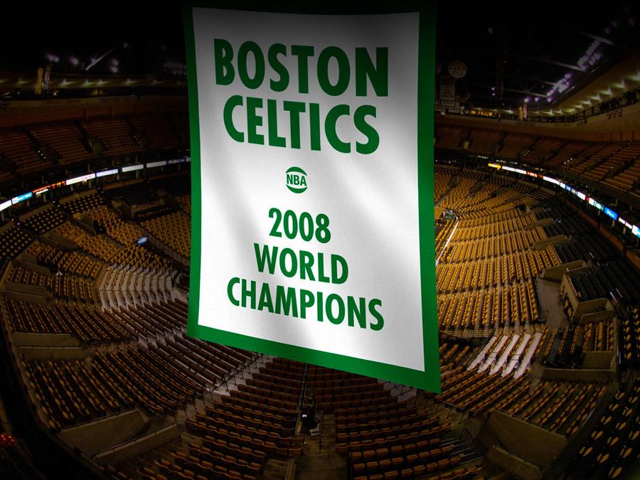 Celtics 2008 Champions Banner Wallpaper