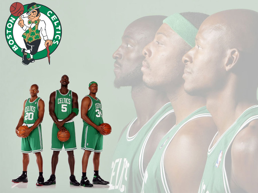 Celtics Big 3 Wallpaper