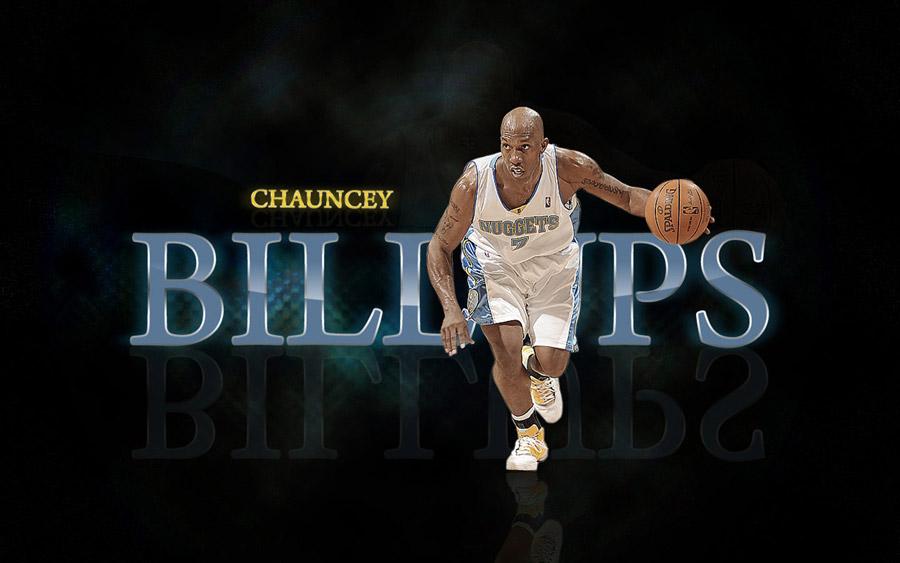 Chauncey Billups Nuggets Widescreen Wallpaper