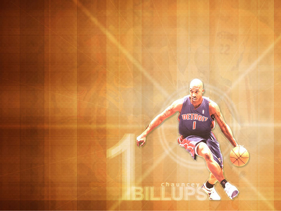 Chauncey Billups Pistons Wallpaper