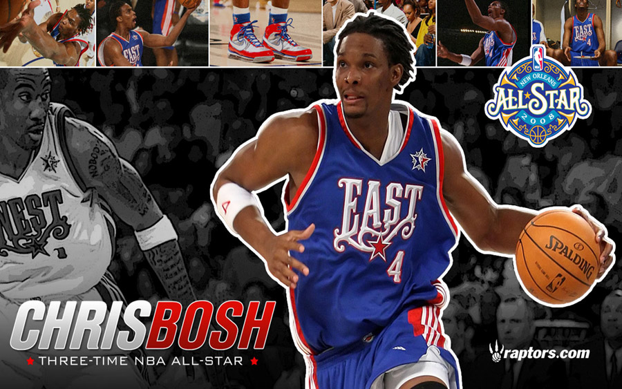 Chris Bosh 2009 All-Star Widescreen Wallpaper