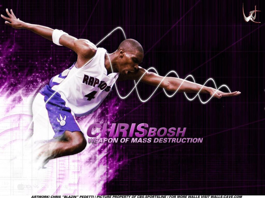 Chris Bosh Raptors Wallpaper
