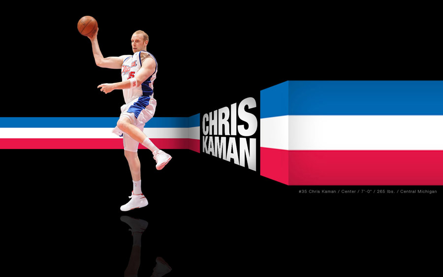 Chris Kaman 1680x1050 Widescreen Wallpaper