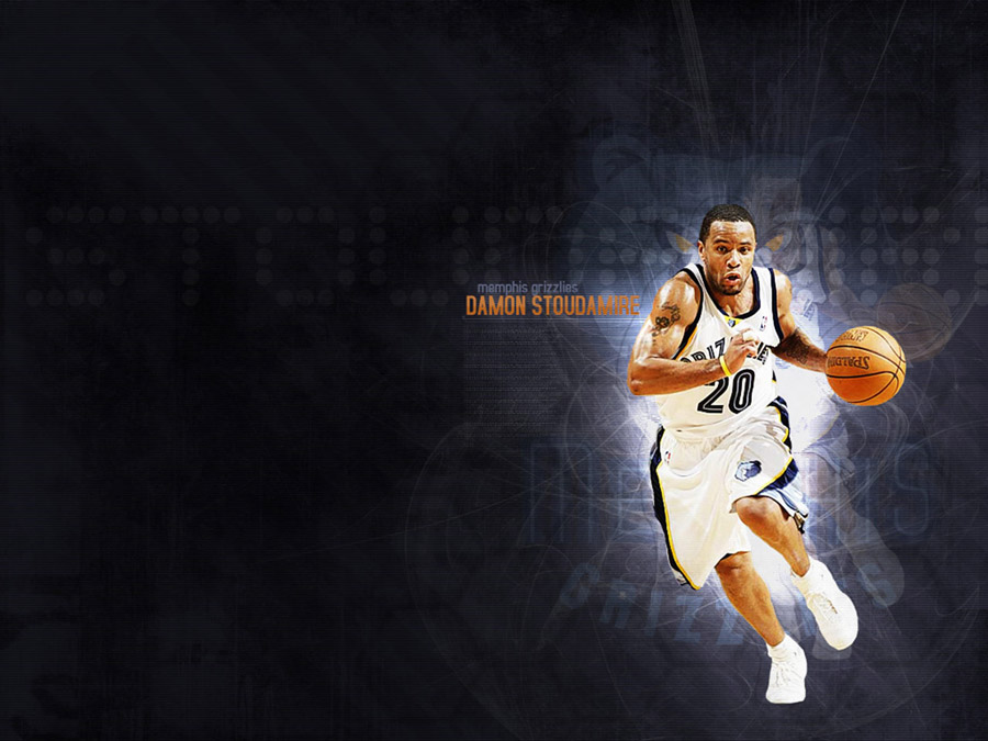 Damon Stoudamire Grizzlies Wallpaper