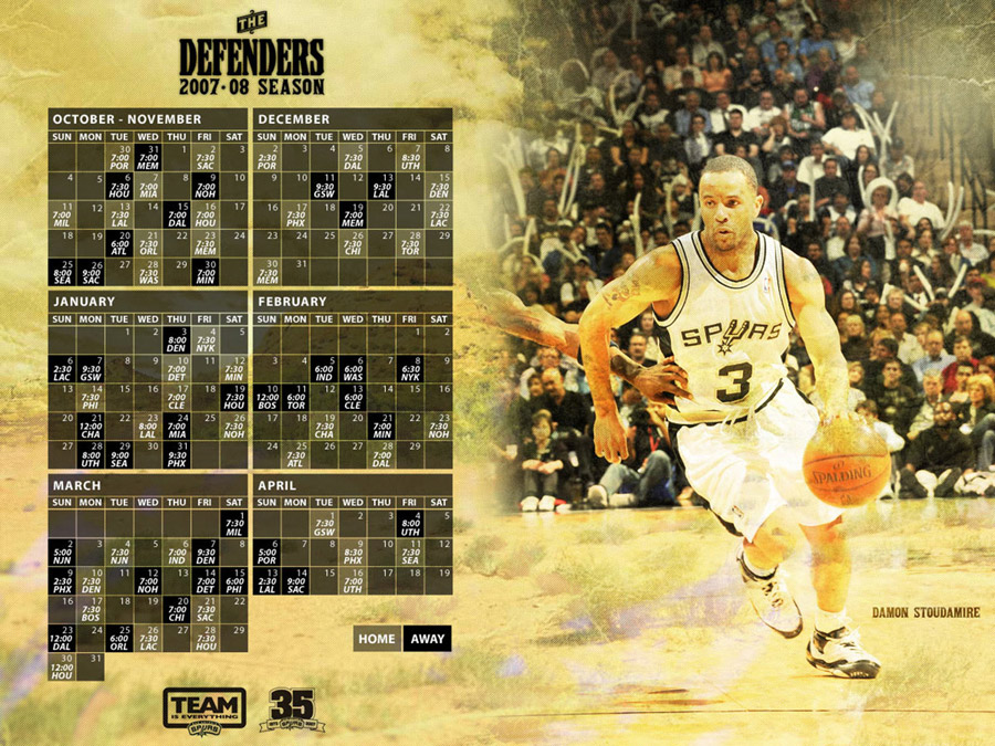 Damon Stoudamire Spurs Wallpaper